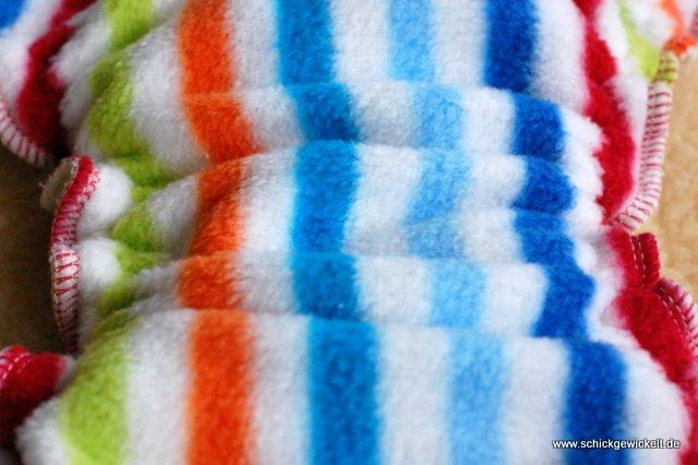 Nahansicht des Fleece